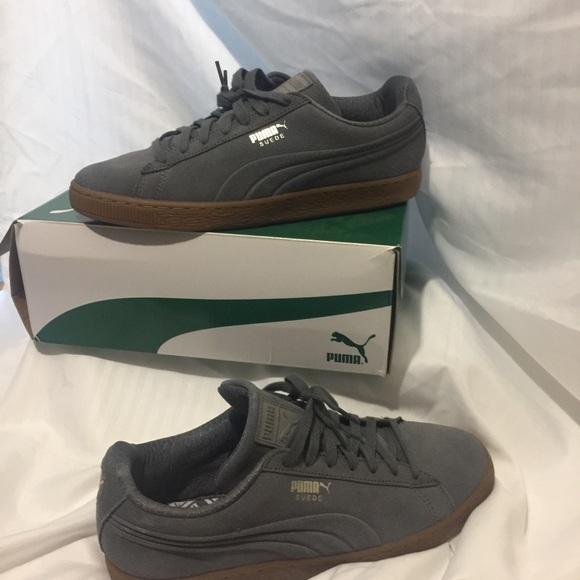 f8c850863f9 Puma Shoes | Suede Classic Debossed Q4 | Poshmark